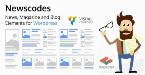 Newscodes - News, Magazine and Blog Elements for WordPress
