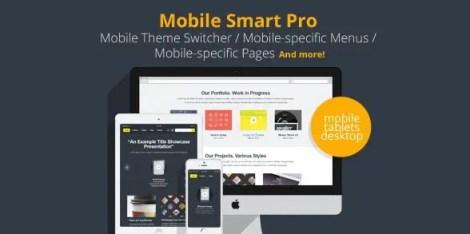 Mobile Smart Pro - mobile switcher, mobile-specific content, menus