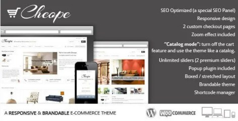 Cheope Shop - Flexible e-Commerce Theme