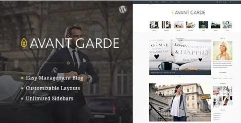 AvantGarde - WordPress Blog Theme