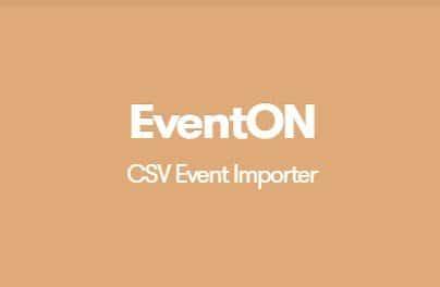 EventON CSV Event Importer Addon