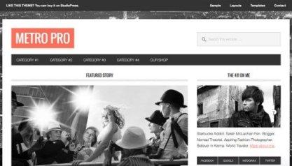 StudioPress Metro Pro Theme