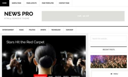 StudioPress News Pro Theme