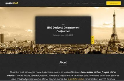 CSS Igniter IgnitionConf WordPress Theme