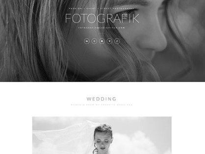 Elementorism Fotografik Landing Page