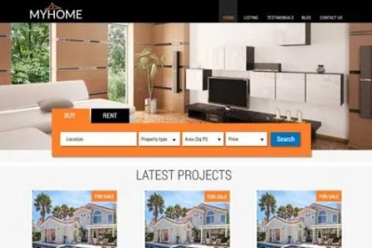 CyberChimps MyHome WordPress Theme