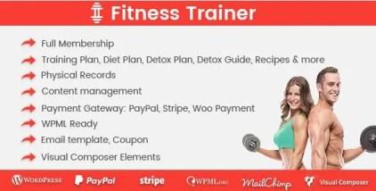 Fitness Trainer - Training Membership Plugin