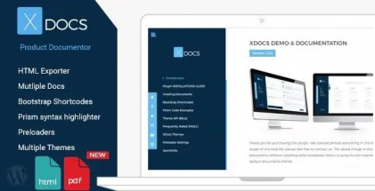 X Docs WordPress Product Documentation Creator