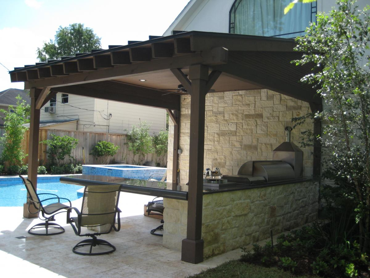 Patio Covers and Porches - Wood Crafters on Patio Cover Ideas Wood id=29646
