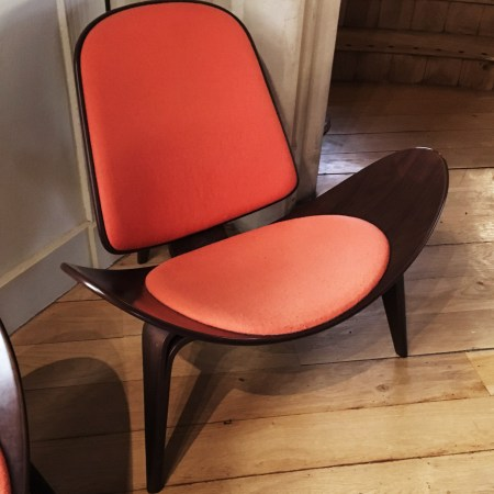 retro chair red cool