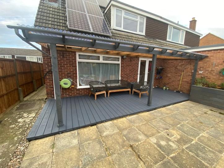build your own veranda