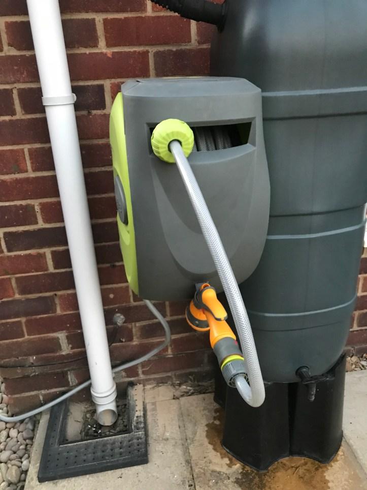 Verve garden hose reel