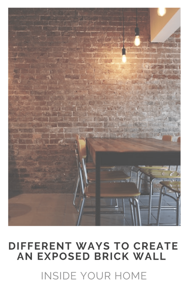 Different ways to create an exposed brick wall inside your home.png