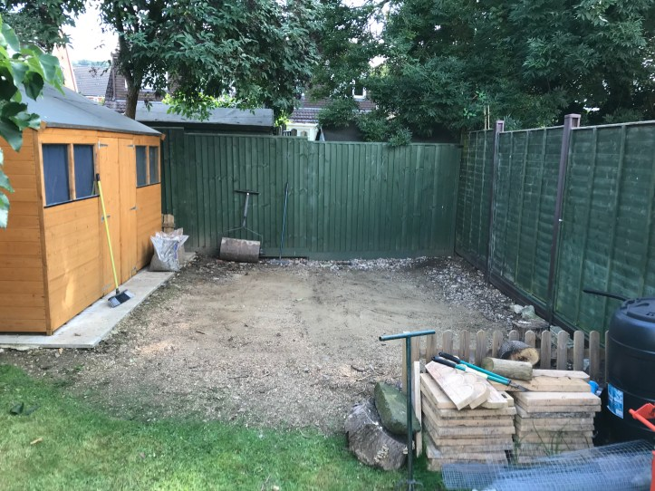 Shed Build 1