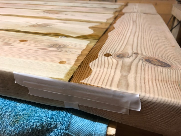 resin in wood