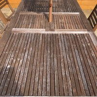 How to restore weathered wooden garden furniture - a simple guide