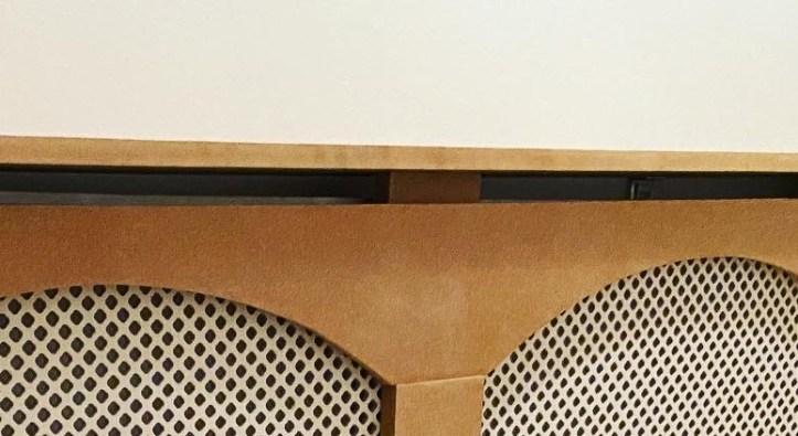 Radiator cover centre piece