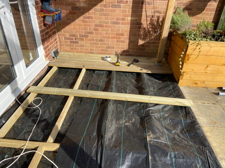 how to build your own decking - the boards