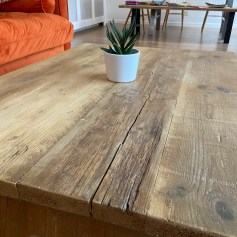 Splayed leg coffee table