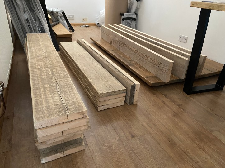 drying scaffold boards