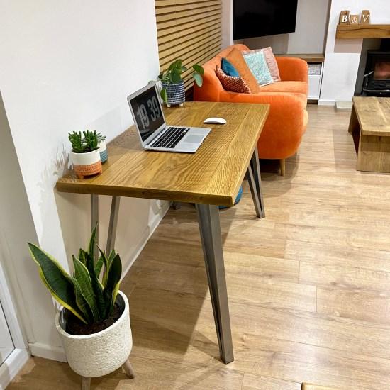 solid oak desk 8
