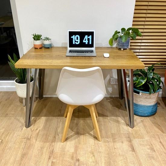 solid oak desk 1