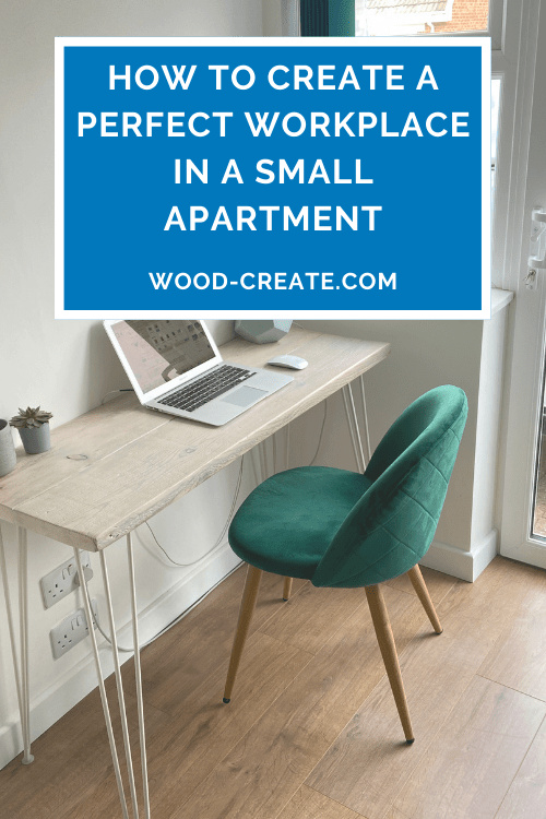 How to create a perfect workplace in a small apartment