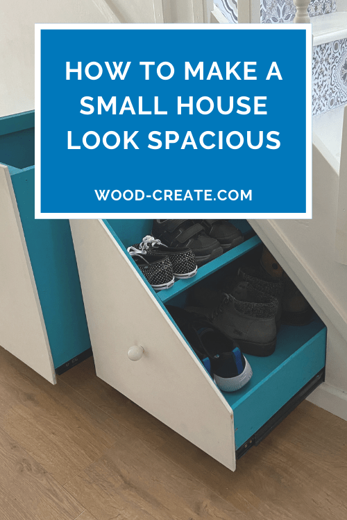 How to make a small house look spacious