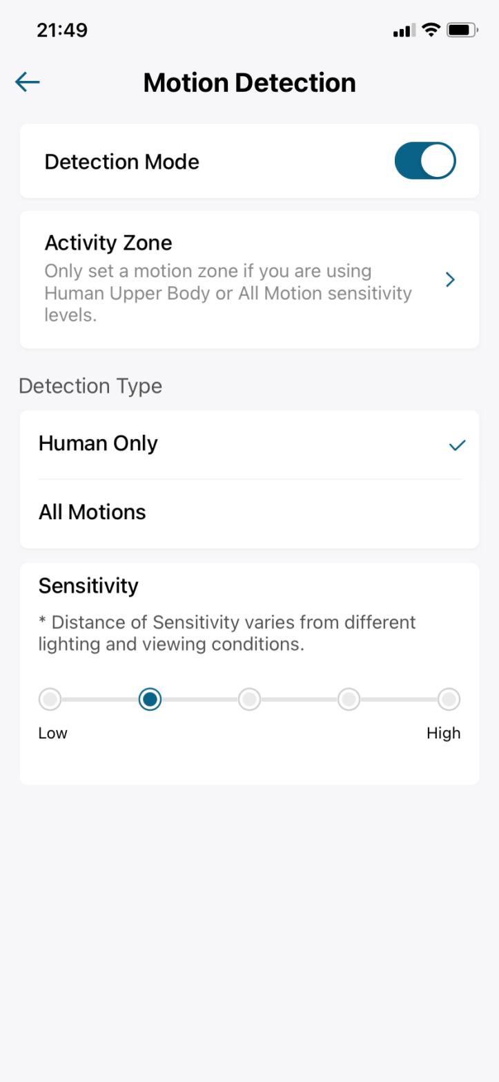 Eufy doorbell app settings 7