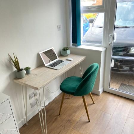 desk build