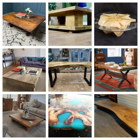 best chunky coffee tables