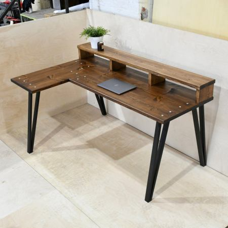 stylish hand made desk