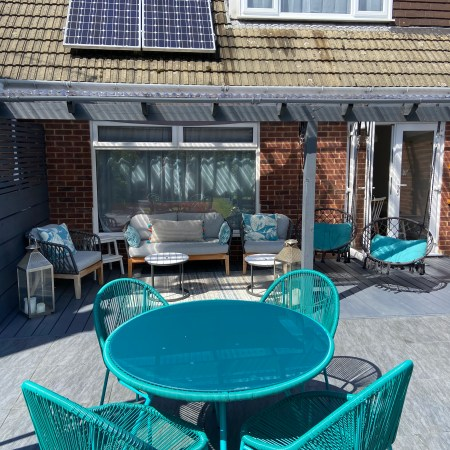 outside space - patio