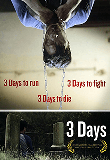 3 Days poster - Wood Entertainment