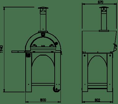 Pulcinella1 60X60