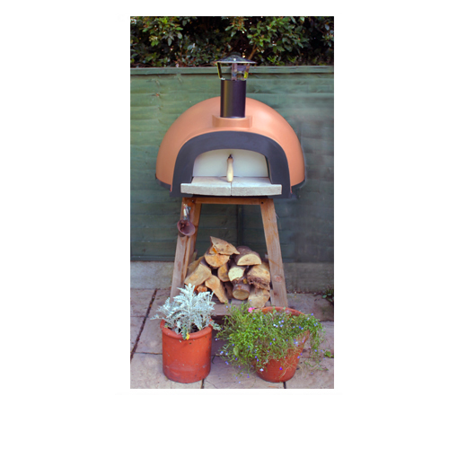 Neo Forni Full Oven Kit + Stand - Cream Timber Stand