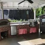 Countertop + Rossofuoco oven