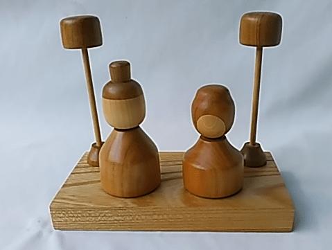木製 お雛様 インテリア