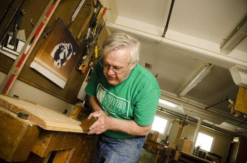 Traditional Woodworking Tour George Lotts Shop At The