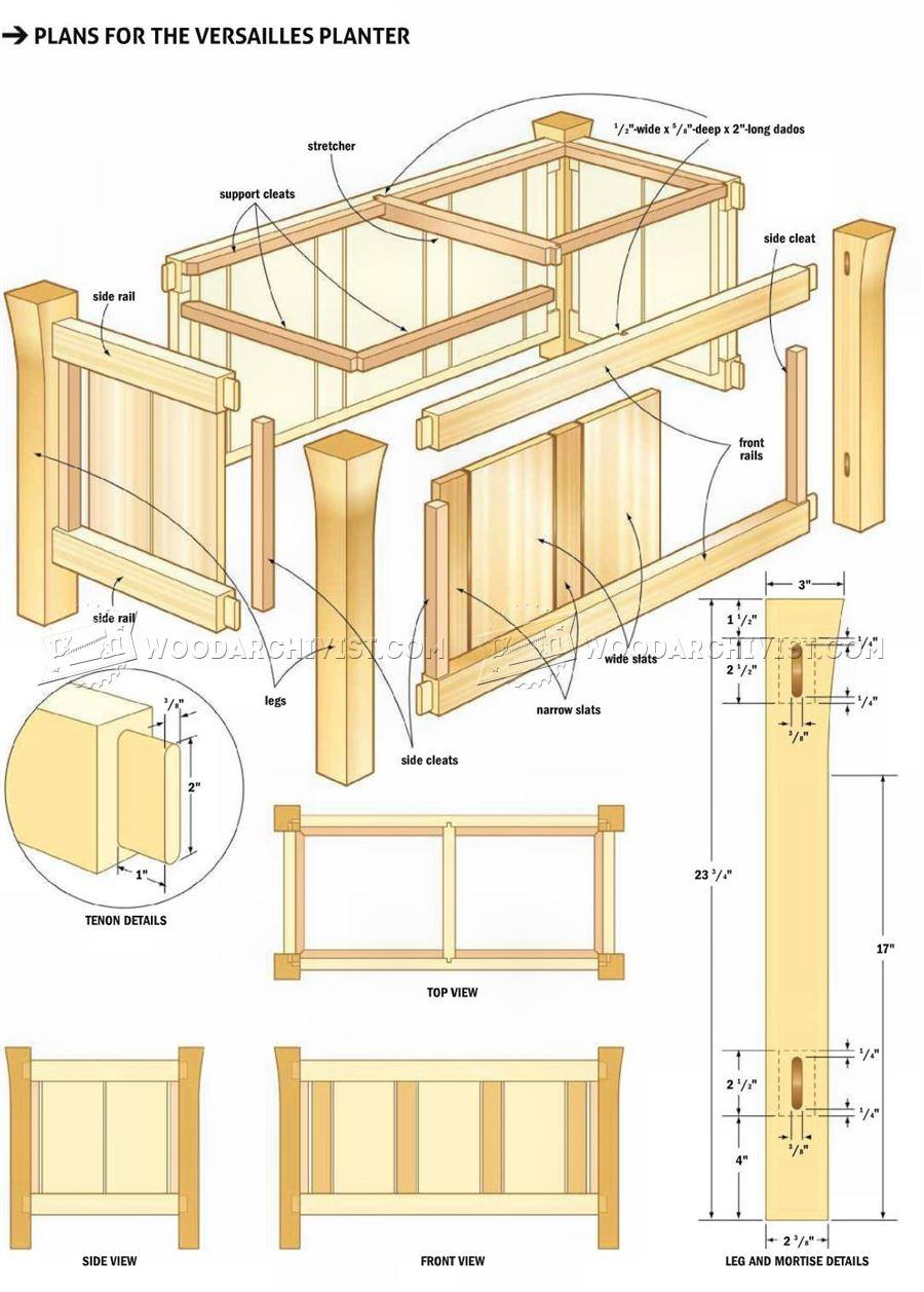 Cedar Wood Garden Box