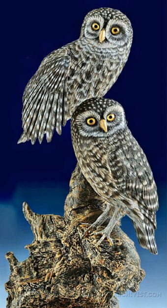 Carving Owl Wood Carving Techniques Woodarchivist