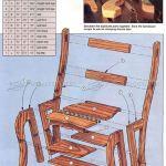 Chair Step Stool Plans Woodarchivist