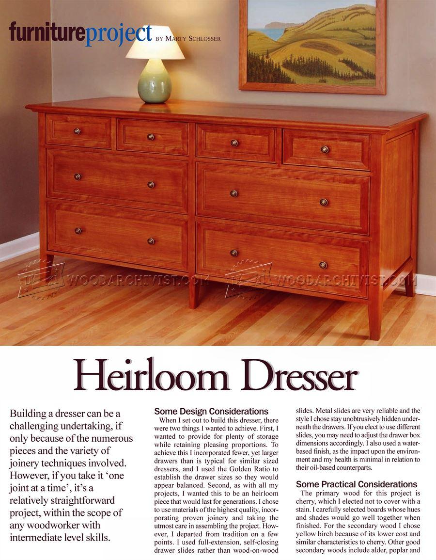 Attic Broyhill Bedroom Set