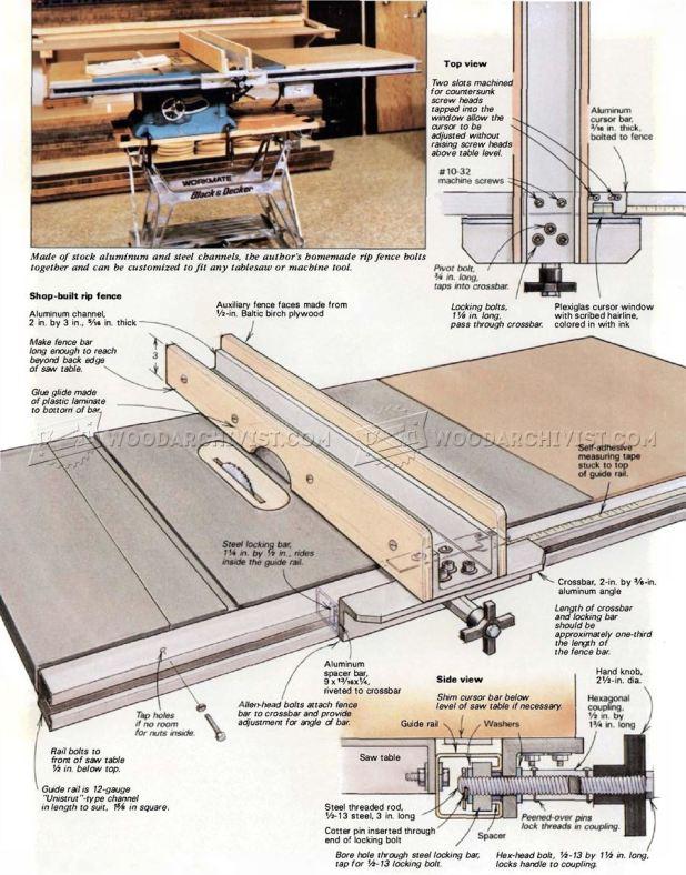 Table Saw Fence Diy Plans Brokeasshomecom : 3585 DIY Table Saw Fence 2 from brokeasshome.com size 618 x 788 jpeg 102kB