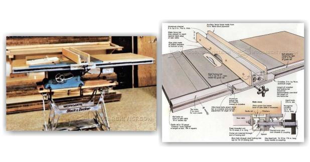 diy table saw fence. diy table saw fence woodarchivist
