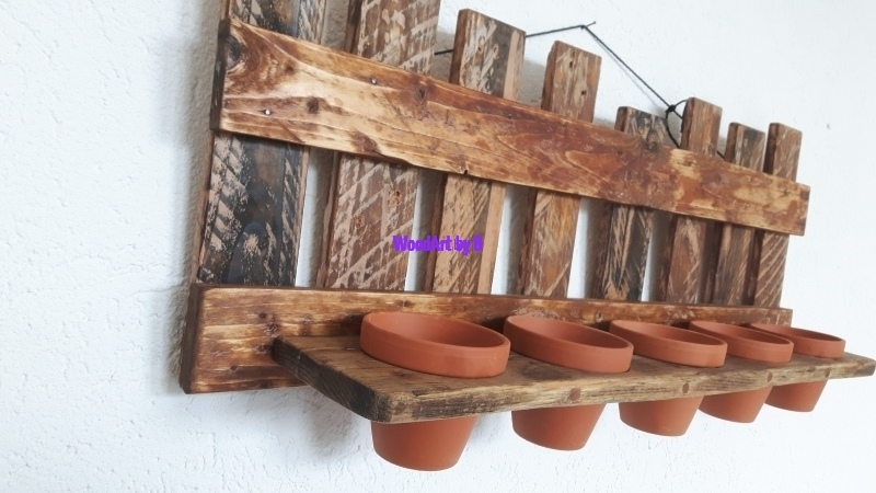 Hängeregal für Pflanzen