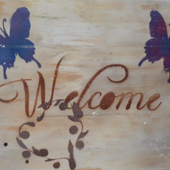 Kinder-Bilder-Schilder,Showroom WoodArt by B. Wanddeko_Welcome_Showroom