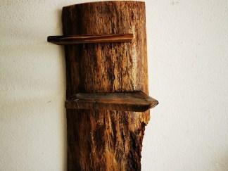 Altholz-Regal, Holz-Diele