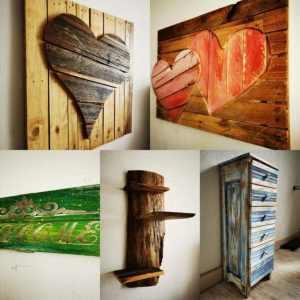 Wanddekorationen, Holzkunst und Design, Dekoration, Neues bei WoodArt by B.