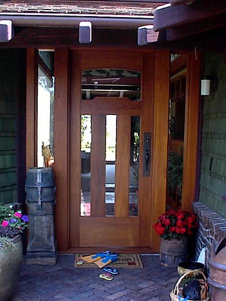 Classic Craftsman Interior Wood Art Design